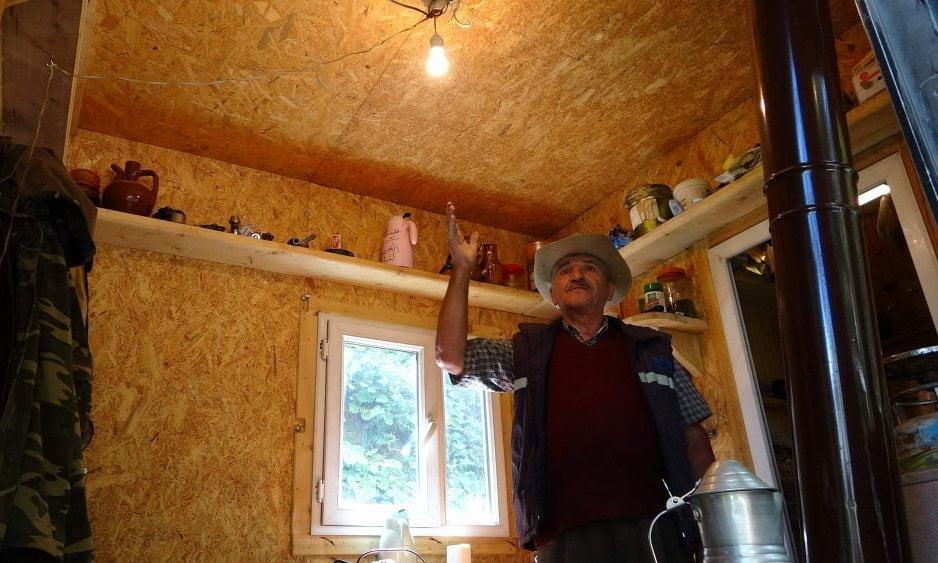 Çaykaralı Salih Onat evinin elektriğini kendi üretti 1