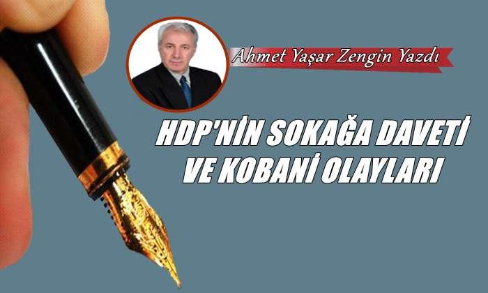 HDP'nin Sokağa Daveti ve Kobani Olayları