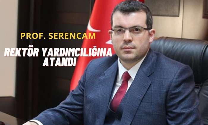 Prof. Dr. Hüseyin Serencam Trabzon Üniversitesi Rektör Yardımcılığına Atandı