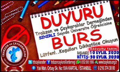 Trabzon Çaykaralılar Derneğinden Burs duyurusu