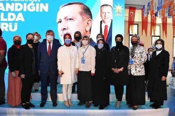 AK Parti Dernekpazarı ilçe kongresi yapıldı. 3