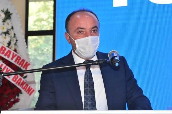 AK Parti Dernekpazarı ilçe kongresi yapıldı. 1