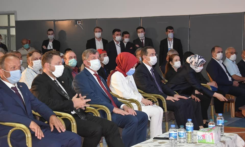 Çaykara'da Ak Parti 7.olağan kongresi yapıldı 7