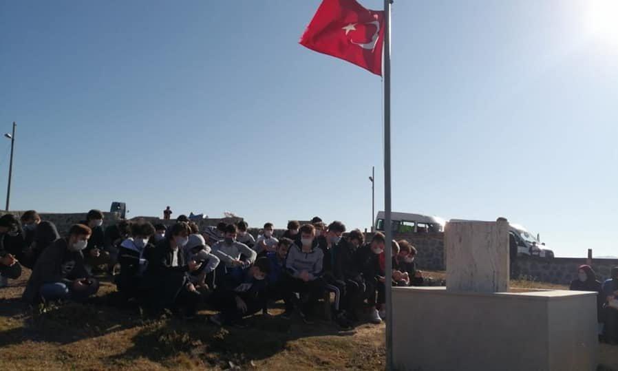 Çaykara'da yurtlarında kalan öğrencilere moral gezisi 5