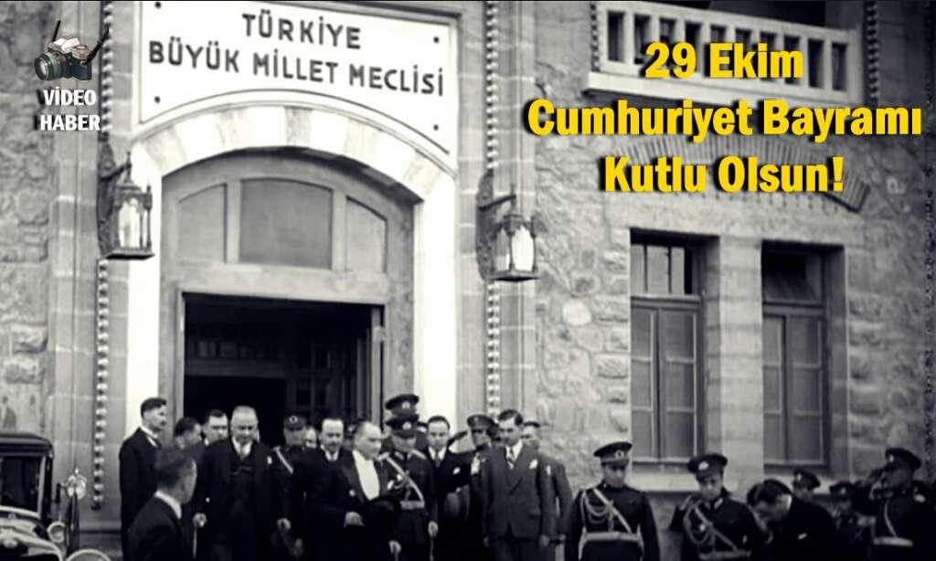 Cumhuriyetimizin 97. Yıl dönümü Kutlu Olsun!