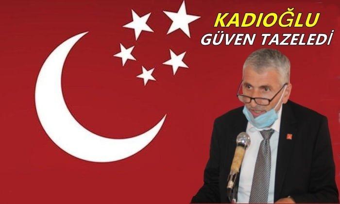 Mehmet Nuri Kadıoğlu yeniden başkanlığa seçildi