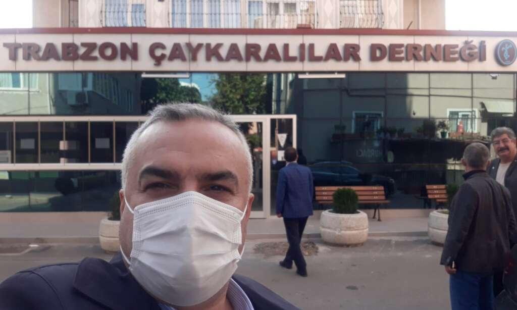 İstanbul Trabzon Çaykaralılar Derneğine anlamlı ziyaret 3