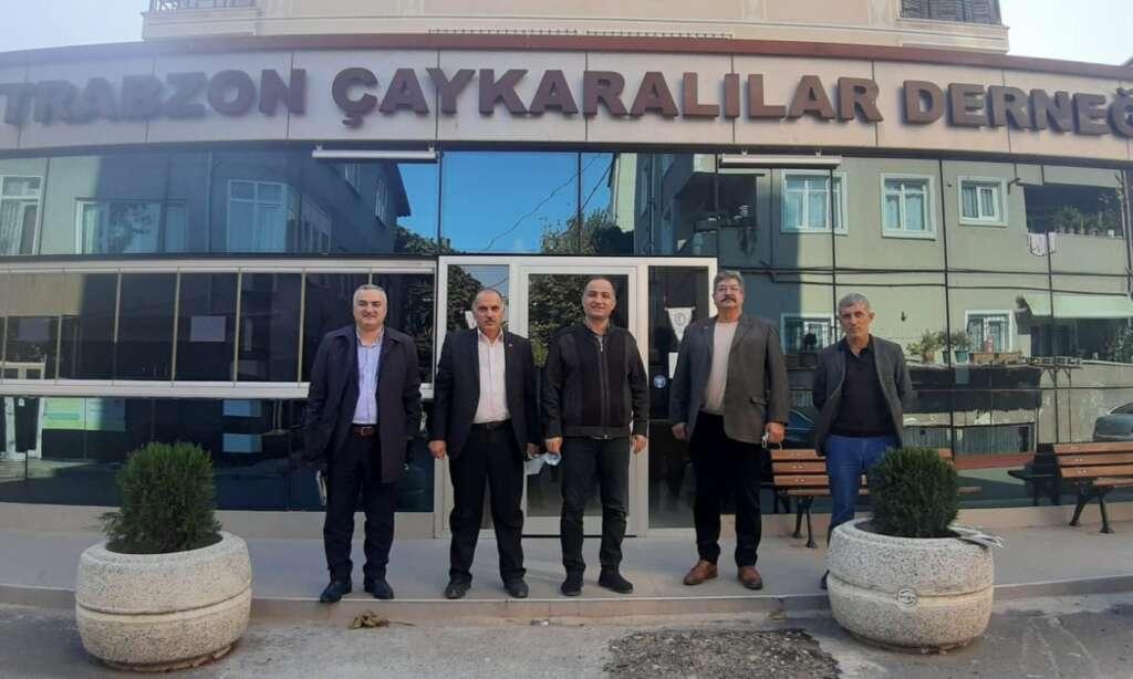 İstanbul Trabzon Çaykaralılar Derneğine anlamlı ziyaret