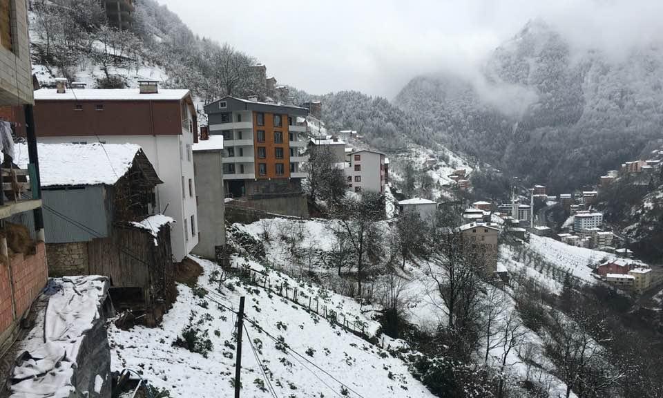 İlçemizin Mahallelerinden ve Uzungöl'den kar manzaraları 12