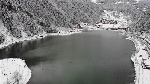 İlçemizin Mahallelerinden ve Uzungöl'den kar manzaraları 14