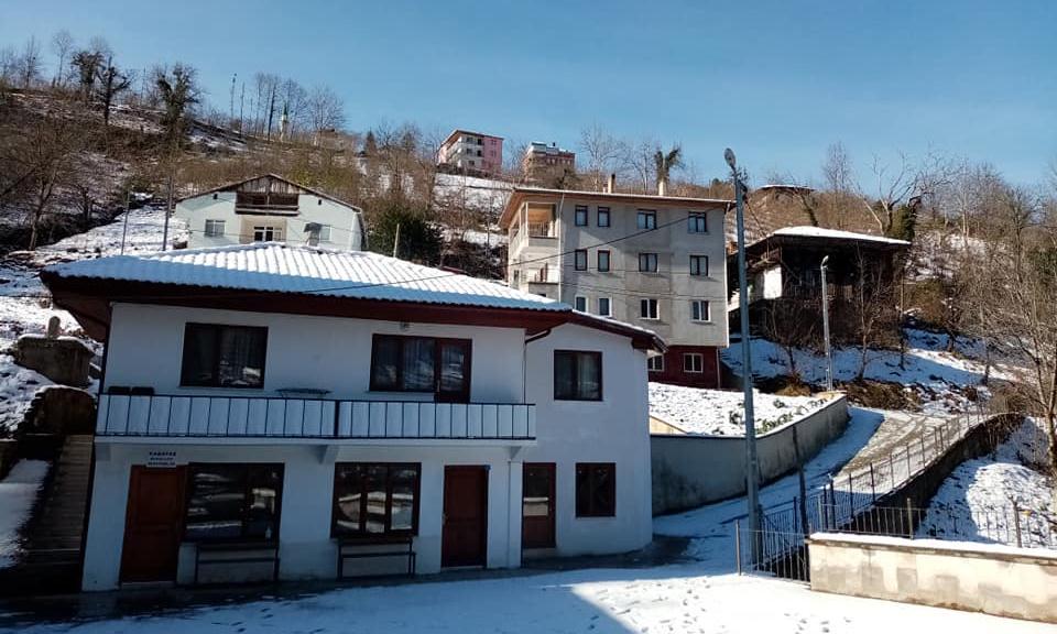 İlçemizin Mahallelerinden ve Uzungöl'den kar manzaraları 17