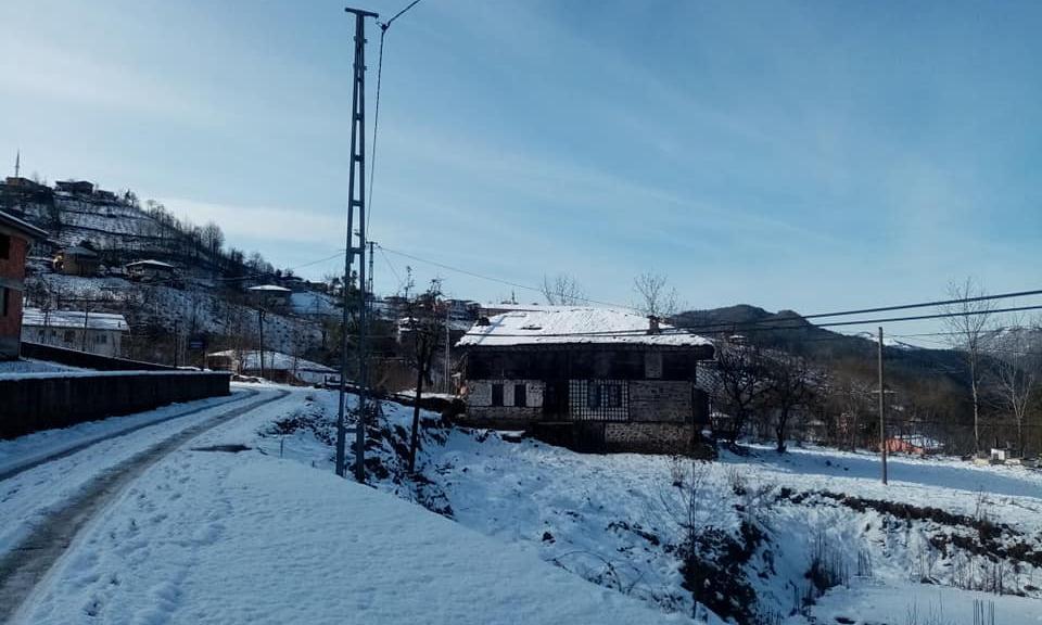 İlçemizin Mahallelerinden ve Uzungöl'den kar manzaraları 18