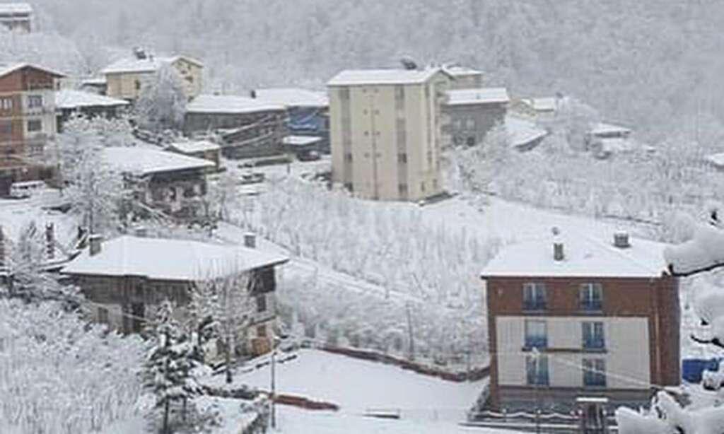 İlçemizin Mahallelerinden ve Uzungöl'den kar manzaraları 8