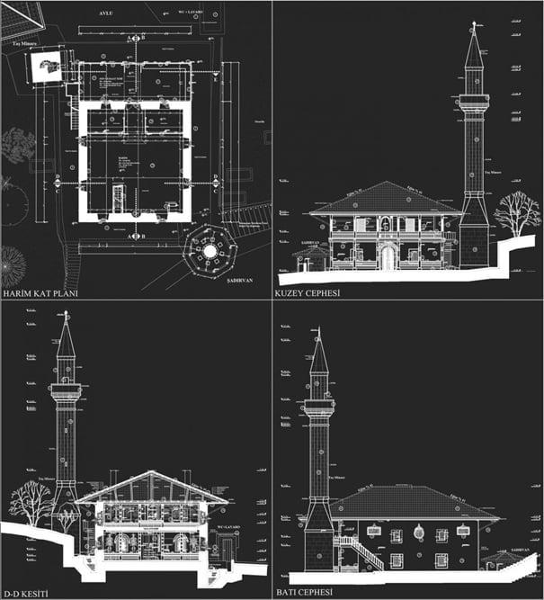 Çaykara'da Tarihi bir camii: Kabataş Köyü Merkez Camii 2