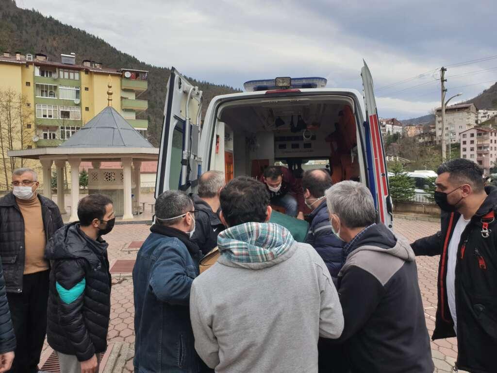 Emekli Öğretmen Mehmet Borazancı toprağa verildi 21