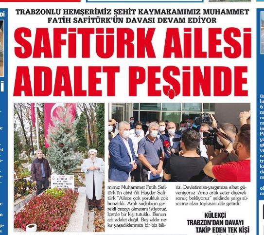 Kaymakam Safitürk'ün şehit edilmesine ilişkin davaya devam edildi 4