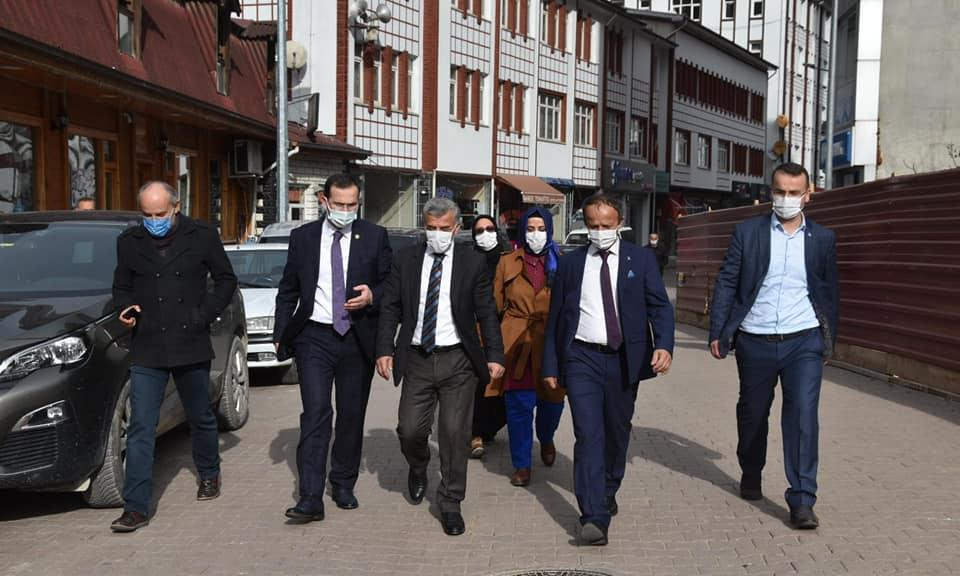 Trabzon Ak Parti Milletvekili Cora Çaykara'da 10