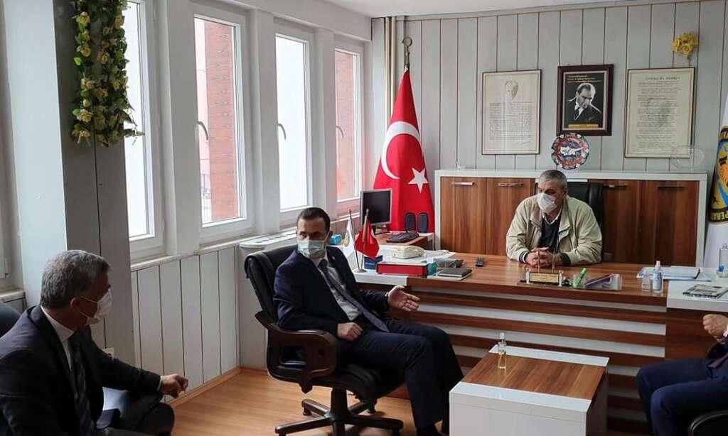 Trabzon Ak Parti Milletvekili Cora Çaykara'da 2