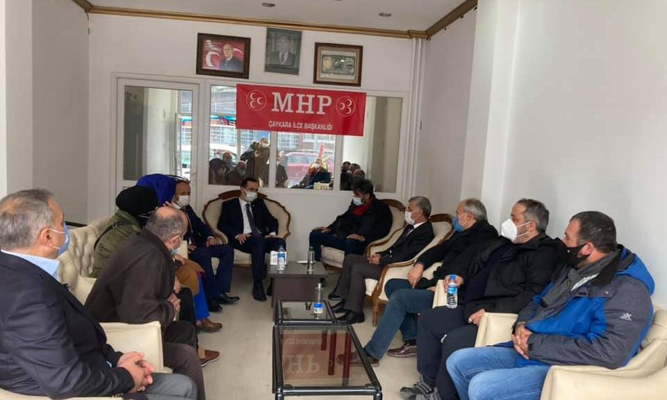 Trabzon Ak Parti Milletvekili Cora Çaykara'da 3