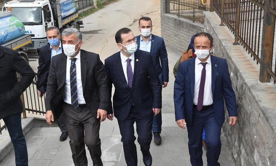 Trabzon Ak Parti Milletvekili Cora Çaykara'da 5