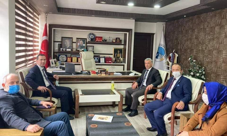 Trabzon Ak Parti Milletvekili Cora Çaykara'da