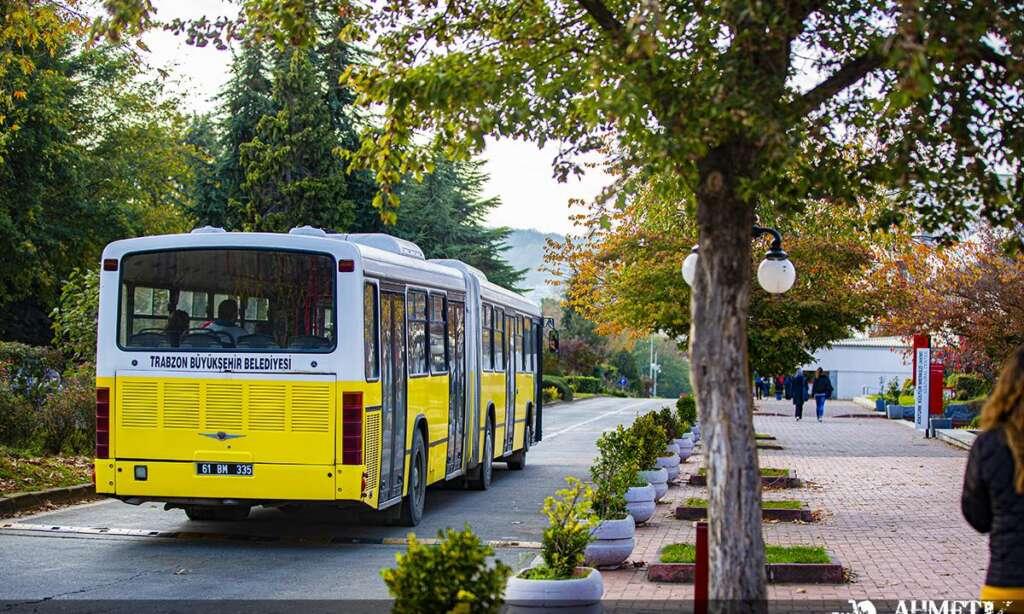 Trabzon Büyükşehir Belediyesi, toplu taşıma araçlarına Hes kodu uygulaması 1