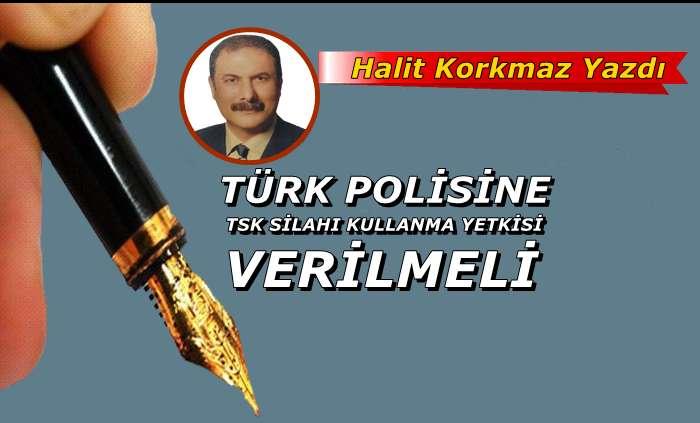 Türk polisine TSK silahı kullanma yetkisi verilmesi