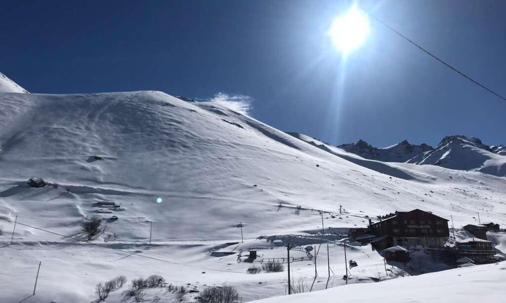 Çaykara Haldızen yaylasında Dağ Kayağı Türkiye Şampiyonası başladı 1