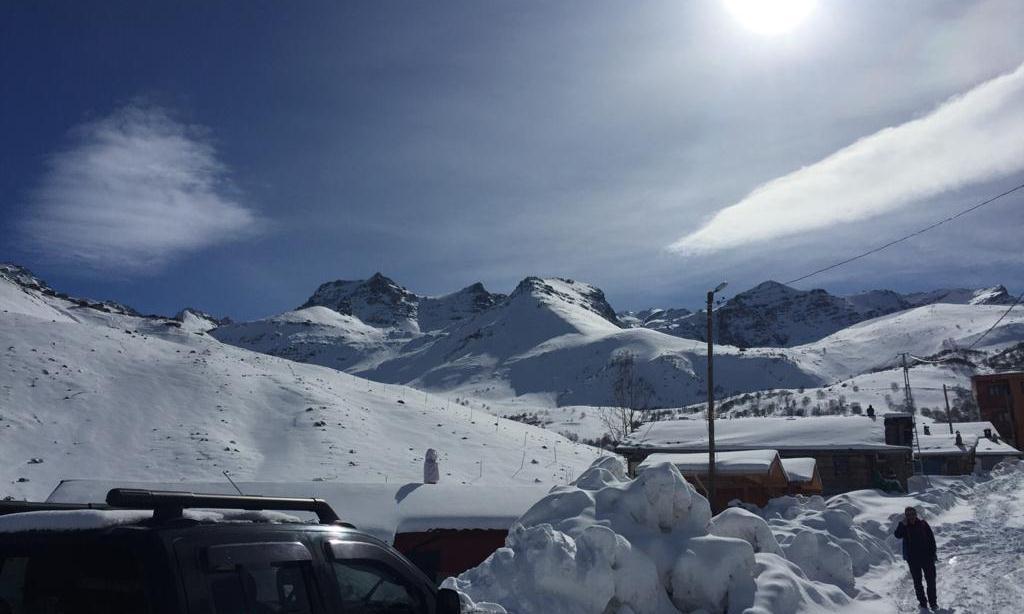 Çaykara Haldızen yaylasında Dağ Kayağı Türkiye Şampiyonası başladı 4