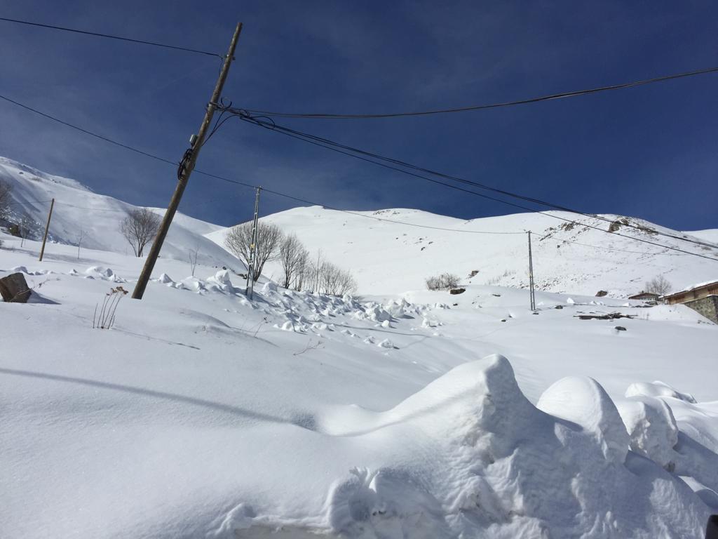 Çaykara Haldızen yaylasında Dağ Kayağı Türkiye Şampiyonası başladı 6