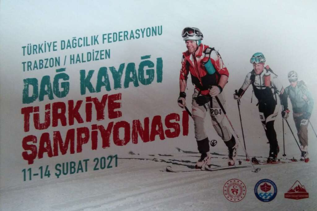 Çaykara Haldızen yaylasında Dağ Kayağı Türkiye Şampiyonası başladı