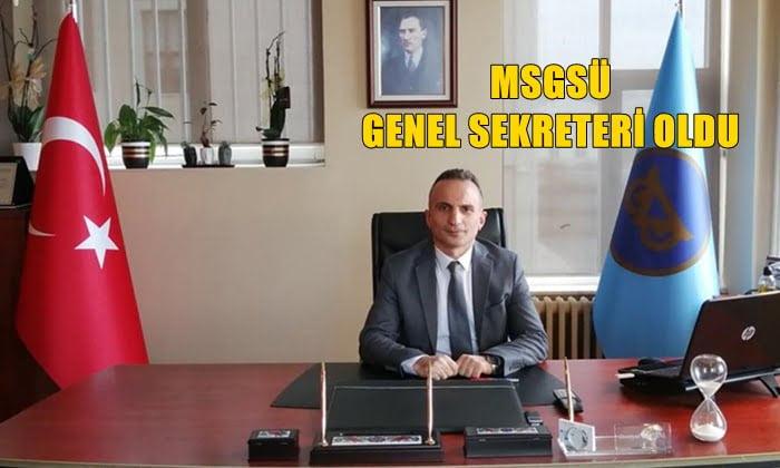 Daniyal Çakıral MSGS Üniversitesi Genel Sekreterliğe atandı