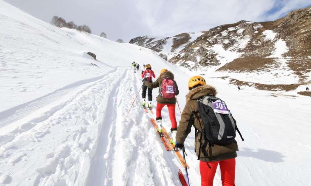 Haldızen yaylasında dağ kayağı şampiyonası tamamlandı 1