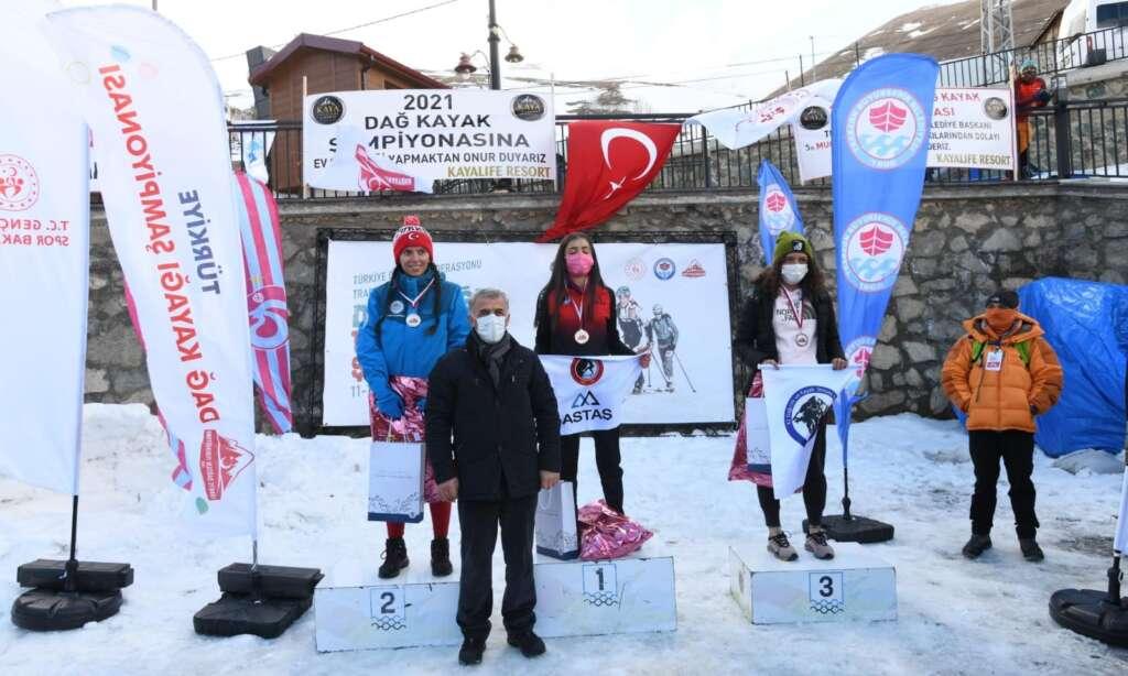 Haldızen yaylasında dağ kayağı şampiyonası tamamlandı 8