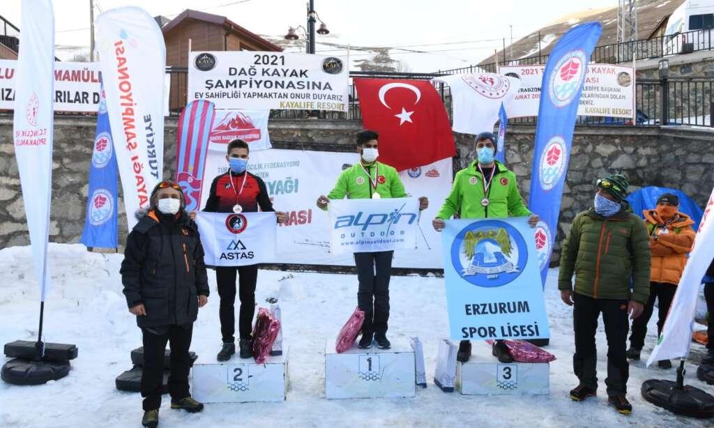 Haldızen yaylasında dağ kayağı şampiyonası tamamlandı 6
