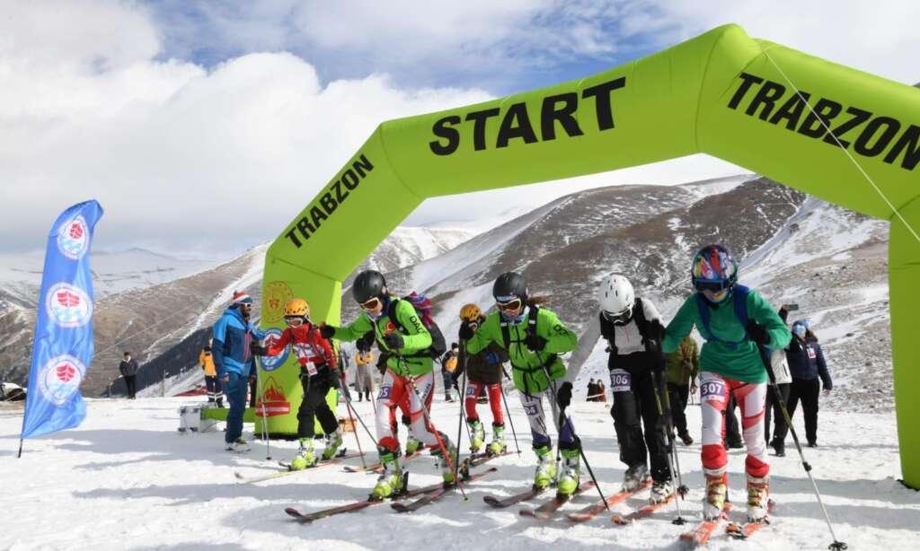 Haldızen yaylasında dağ kayağı şampiyonası tamamlandı
