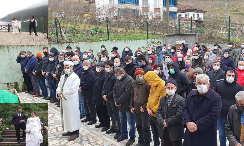 Kamil İkinci Ataköy Mahallesinde eşi Zeynep Ordu da sonsuza uğurlandı