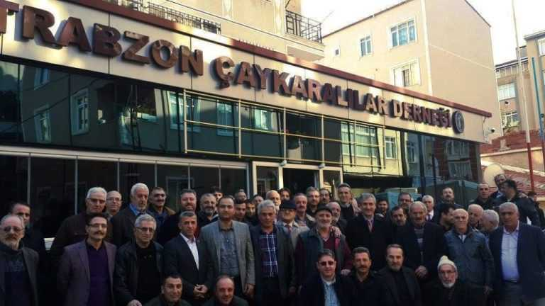 İstanbul Kartal'da bulunan Trabzon Çaykaralılar Derneği Genel Kurula Gidiyor