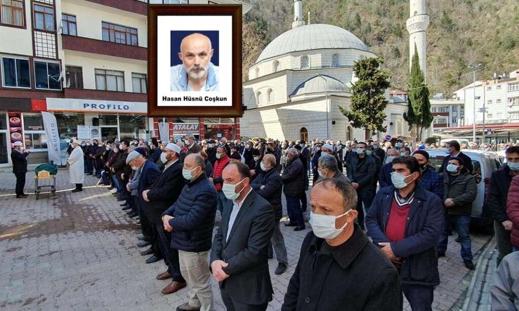 Merhum Hasan Hüsnü Coşkun dualarla sonsuza uğurlandı