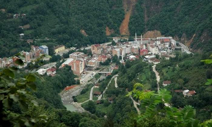 Trabzon'da tek ''mavi'' yer Çaykara 1
