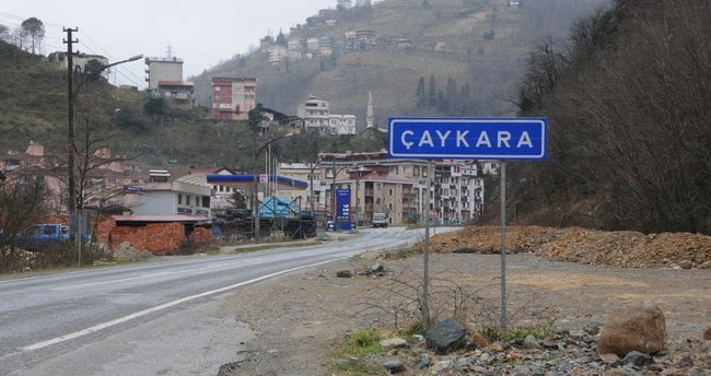 Trabzon'da tek ''mavi'' yer Çaykara