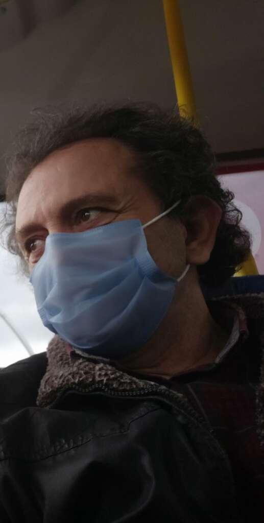 Mimar Ayhan Durgun AKM'nin açılışına hazırlanıyordu