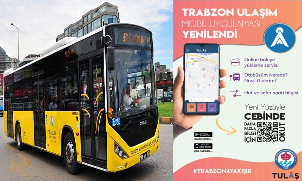 Trabzon Büyükşehir, Toplu Ulaşım Mobil Uygulamasını güncelledi! 1