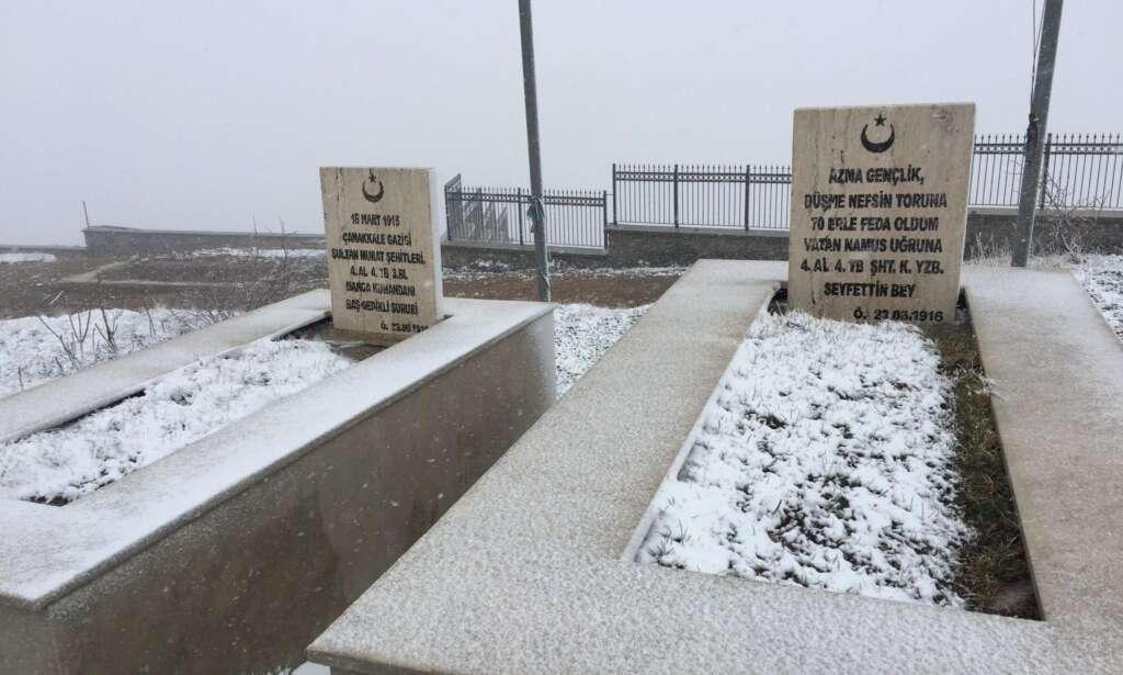 Çaykara'nın yaylalarına Mayıs karı sürprizi 6