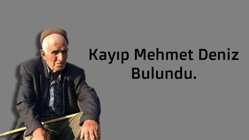 Mehmet Deniz Bulundu