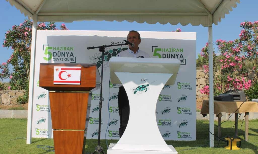 Çaykaralı Kıbrıs Esentepe Belediye Başkanı Cemal Erdoğan'ın da katıldığı etkinlik 1