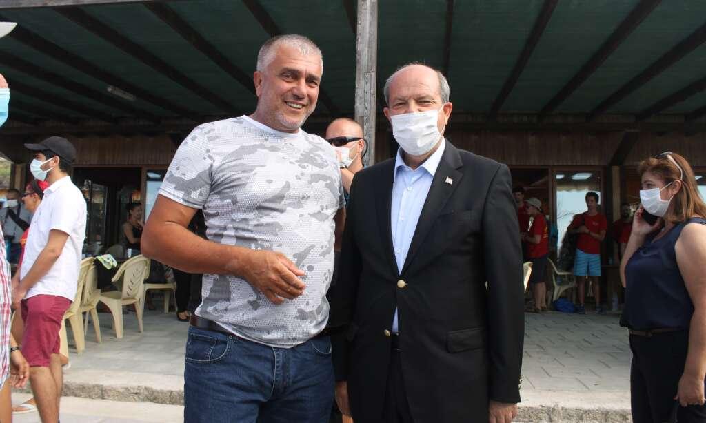 Çaykaralı Kıbrıs Esentepe Belediye Başkanı Cemal Erdoğan'ın da katıldığı etkinlik 4