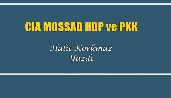 CIA MOSSAD HDP ve PKK