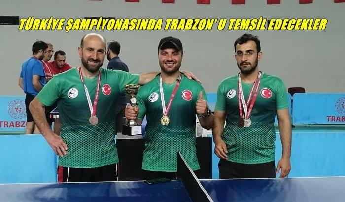 Türkiye Şampiyonasında Trabzon'u Temsil edecekler