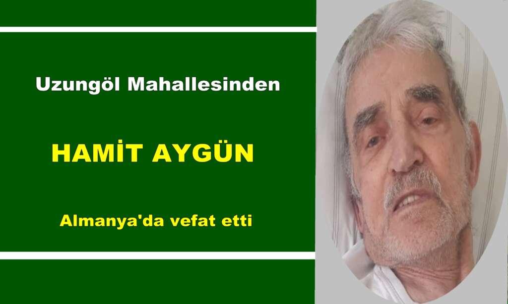 Uzungöl'ün eski Belediye Başkanı Abdullah Aygün'ün babası vefat etti
